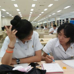 Photo taken at National Library of Thailand by Praew S. on 4/25/2016
