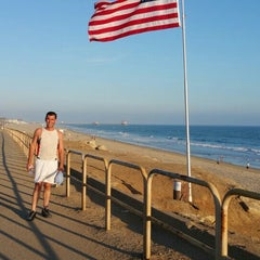 Photo taken at City of Huntington Beach by Stacey~Marie on 6/19/2015