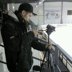 Photo taken at LSPA ledus halle by Kalvis P. on 10/14/2012