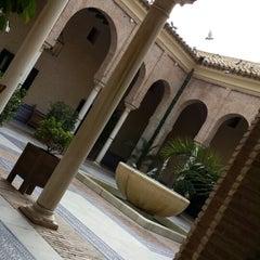 Photo taken at Hotel Parador de Carmona by Daniela G. on 10/23/2013