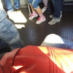 Photo taken at Metro Frullone - San Rocco (L1) by Fiorella Q. on 5/13/2013