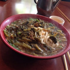 Photo taken at Lao Shan Dong Homemade Noodle House by Stanford on 8/28/2015