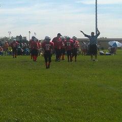 Photo taken at Avon High School Oriole Stadium by MC7576 on 9/15/2012