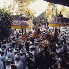 Photo taken at Pura Pengrebongan by Widi H. on 8/2/2015