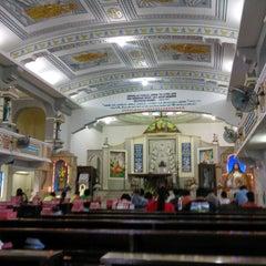 Photo taken at Graha St. Maria Annai Velangkanni by Edwinar R. W. on 11/1/2014
