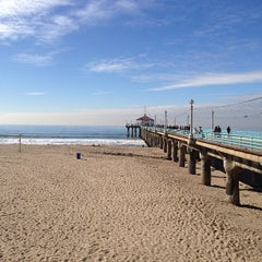 Photo taken at Manhattan Beach Pier by Shawn A. on 12/22/2012