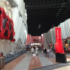 Photo taken at Ferrari World Abu Dhabi by Damir M. on 3/19/2013