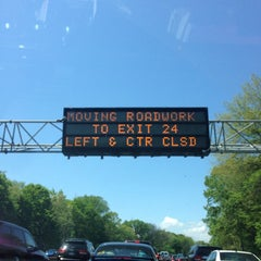 Photo taken at Northern State Parkway by Jennifer on 5/18/2014