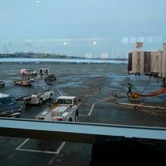 Photo taken at Gate A30 by Timothy J. on 10/26/2012