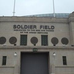 Photo taken at Soldier Field by Mollz B on 5/27/2013