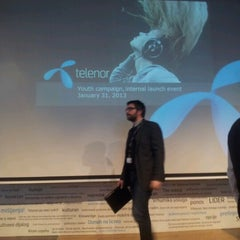 Photo taken at Telenor Serbia Intro Center by Vladimir T. on 1/31/2013