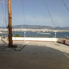 Photo taken at Ναυτικός Όμιλος Ελλάδος (Yacht Club of Greece) by Alexandra K. on 3/30/2013