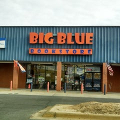Photo taken at Big Blue Bookstore by Scott S. on 1/25/2014