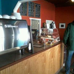 Photo taken at The Happy Cappuccino Coffee House by Lance C. on 3/17/2013