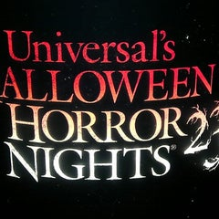 Photo taken at Universal's Halloween Horror Nights 23 by Ashley D. on 10/18/2013