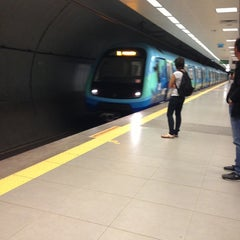 Photo taken at Kozyatağı Metro İstasyonu by gamze a. on 7/2/2013