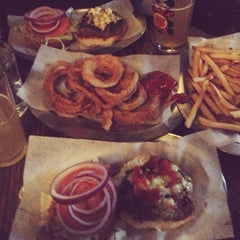 Photo taken at Black Iron Burger by Yuri K. on 3/29/2013