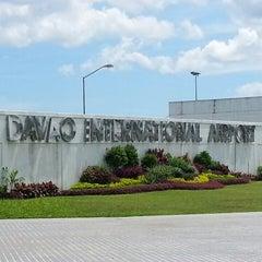 Photo taken at Francisco Bangoy International Airport (DVO) by Melai A. on 3/13/2013