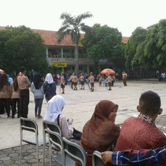 Photo taken at SMAN 1 Tambun Selatan by Prabowo M. on 5/19/2013