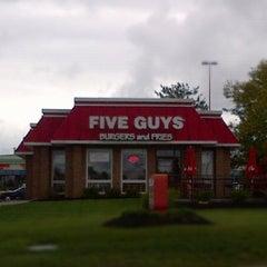 Photo taken at Five Guys by DK M. on 9/18/2012