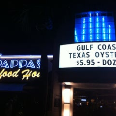 Photo taken at Pappas Seafood House by Heater T. on 1/23/2013