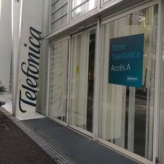Photo taken at Torre Telefònica Diagonal 00 (CAT HQ) by Jordi T. on 9/17/2014