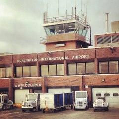 Photo taken at Burlington International Airport (BTV) by Tonia on 12/7/2012