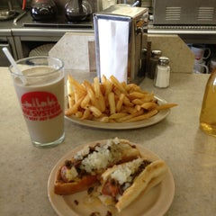 Photo taken at Olneyville New York System Restaurant by Brian F. on 5/24/2013