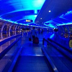 Photo taken at Manchester International Airport (MAN) by Alex W. on 9/22/2012