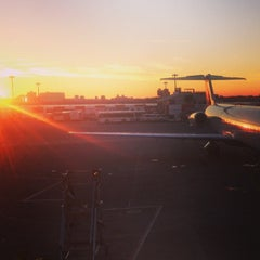 Photo taken at LaGuardia Airport (LGA) by Dmitriy Y. on 11/14/2013