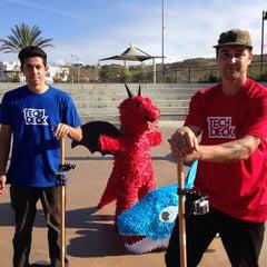 Photo taken at Santa Clarita Skate Park by Misa G. on 12/18/2014