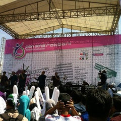 Photo taken at Monumen Perjuangan Rakyat Jawa Barat by Abaz A. on 3/31/2013