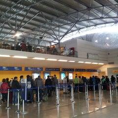 Photo taken at Aeropuerto Presidente Carlos Ibáñez del Campo (PUQ) by Josefa B. on 10/20/2012