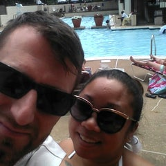 Photo taken at River Place Pool by Lukas Z. on 7/12/2015