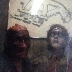 Photo taken at The Factory of Terror Haunted House by Tim S. on 10/13/2013