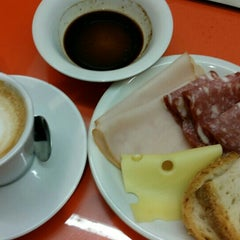 """Photo taken at Alitalia Lounge """"Giotto"""" by Phil a. on 8/28/2015"""