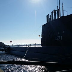 Photo taken at Submarine Force Library & Museum by Phil a. on 1/23/2015