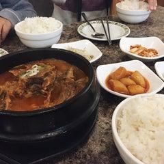 Photo taken at Kim Baek Korean Restaurant by Mina on 10/23/2015