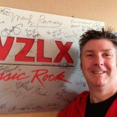 Photo taken at WZLX 100.7 FM by John L. on 12/15/2012