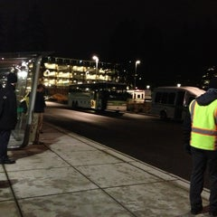 Photo taken at MSFT Commons Transit Center (CTC) by Matthew G. on 1/5/2013