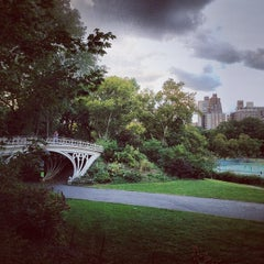 Photo taken at Central Park - Gothic Bridge by Eduard M. on 9/26/2013