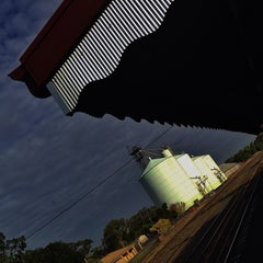 Photo taken at Swan Hill Train Station by Toula K. on 3/23/2014