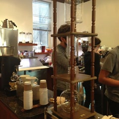 Photo taken at 'Spro Coffee of Hampden by danielle w. on 11/24/2012
