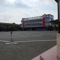 Photo taken at Politeknik Ilmu Pelayaran (PIP) Semarang by Satria W. on 1/6/2014