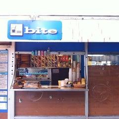 Photo taken at Bite by Octavian C. on 9/28/2012