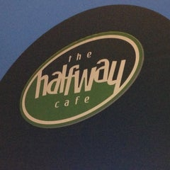 Photo taken at Halfway Cafe by Denise on 11/17/2013