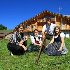 Photo taken at Agritur Weiss by Vita Nova Trentino Wellness on 8/23/2013