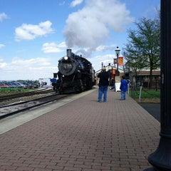 Photo taken at Strasburg Railroad by Mitch R. on 4/20/2013