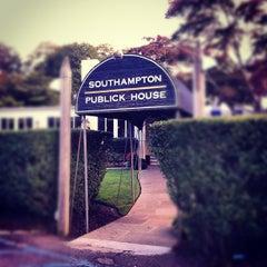 Photo taken at Southampton Publick House by Skye G. on 9/16/2012