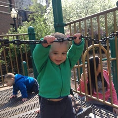 Photo taken at Astor Playground by Eric G. on 5/17/2013